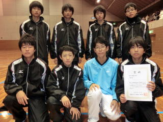 第21回福島県中学インドアソフト...